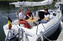 The ETAP 22s is also a perfect family yacht