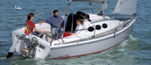 The ETAP 26s is ideal for inland and coastal sailing cruises